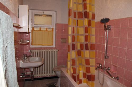 Unsere Ferienwohnung - Teufelsburg - Badezimmer