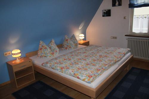 Unsere Ferienwohnung - Teufelsburg - Schlafzimmer