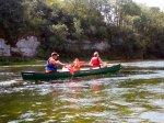 Geführte Kanutouren auf dem Rhein - Info unter http://www.wildsport-tours.de/ Riegel