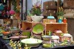 Wochenmarkt in Endingen, Künstlermarkt in Vogtsburg-Burkheim oder ev. mal ein Flohmarkt im Elsaß besuchen.